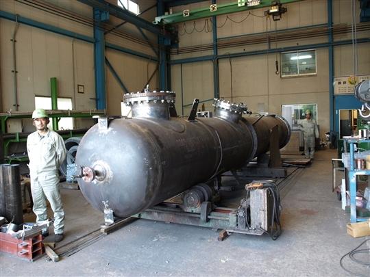 大型圧力容器